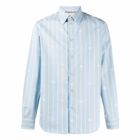 Gucci Chemise 'Bee Striped' pour Hommes