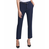 Calvin Klein Women's 'Embellished-Belt' Trousers
