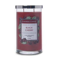 Colonial Candle Bougie parfumée 'Classic Cylinder' - Black Cherry 538 g
