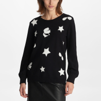Karl Lagerfeld Women's 'Star Intarsia' Sweater