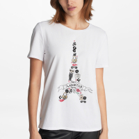 Karl Lagerfeld Women's 'Fun Eiffel Tower' T-Shirt