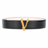 Versace Women's 'V Buckle' Belt