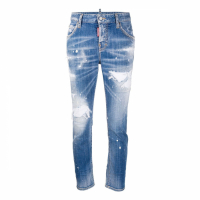 Dsquared2 Jeans skinny 'Distressed' pour Femmes