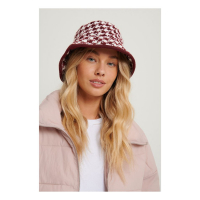 NA-KD Accessories Chapeau 'Dogtooth Bucket' pour Femmes