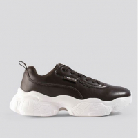 NA-KD Shoes Women's 'Flag Logo Chunky' Sneakers