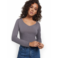 New York & Company Women's 'Perfect' Long-Sleeve T-Shirt