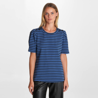 Karl Lagerfeld Women's 'Button Shoulder' Short sleeve Top