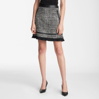 Karl Lagerfeld Women's 'Tweed' Mini Skirt