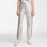 Karl Lagerfeld Women's 'Foil Logo Taping' Trousers