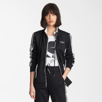 Karl Lagerfeld Women's 'Zip Up Taping' Jacket