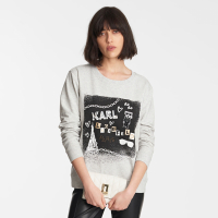 Karl Lagerfeld Women's 'Sketch' Sweatshirt