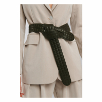 NA-KD Accessories Ceinture 'Quilted Knot' pour Femmes