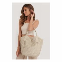 NA-KD Accessories Sac Shopper 'Pattern Embossed' pour Femmes