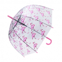 Blooms of London 'Pink Flamingo' Umbrella