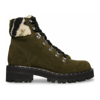 Steve Madden Booties 'Receptive Lace-Up Hiker' pour Femmes