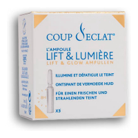 Coup d'Eclat 'Lift and Light' Anti-aging treatment - 3 Ampules, 1 ml