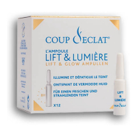 Coup d'Eclat 'Lift and Light' Anti-aging treatment - 12 Ampules, 1 ml