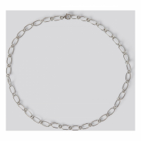 NA-KD Accessories Collier 'Sterling Silver Thin Chain' pour Femmes
