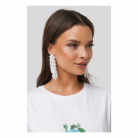 NA-KD Accessories Boucles d'oreilles 'Pearl Dropping' pour Femmes