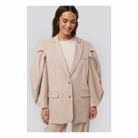 NA-KD Classic Women's 'Balloon Sleece' Blazer