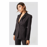 Milena Karl x NA-KD Women's 'One Button' Blazer
