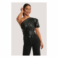 NA-KD Party Women's One Shoulder Top
