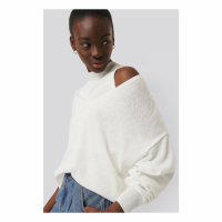 NA-KD Reborn Women's 'Two Piece Layered' Sweater, Top