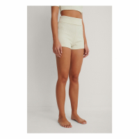 NA-KD Basic Short 'Basic Ribbed Highwaist' pour Femmes