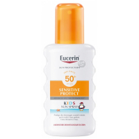 Eucerin 'Sun Sensitive Protect Kids Spray Kids SPF 50+' Sunscreen - 200 ml