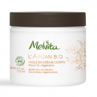 Melvita L'Argan Bio Body Oil in Cream 175ml