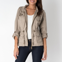Yuka Paris Women's Military Jacket