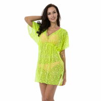 Relleciga Women's 'Cherry' Crochet Beach Dress