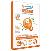Puressentiel Joints Heating Patches with 14 Essential Oils - 3 Patches