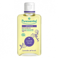 Puressentiel Relaxation : Organic Massage Oil - 100 ml