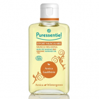 Puressentiel Muscle Relaxing Organic Massage Oil - 200 ml