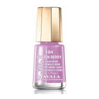 Mavala 'Frozen Berry' Nail Polish #184 - 5 ml