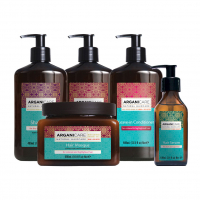 Arganicare 'Argan Full Colored Hair' Set - 5 Pieces