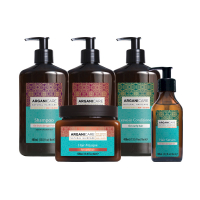 Arganicare 'Argan Full Curly Hair Collection' Set - 5 Pieces