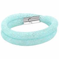 Swarovski 'Medium Stardust Light Blue Double' Bracelet