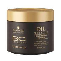 Schwarzkopf BC Hairtherapy Oil Miracle Gold Masque Scintillant