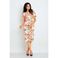 Infinite You Women's Printed knee-length dress