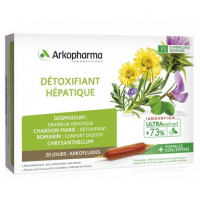 Arkopharma Arkofluide - Hepatic Detoxifier - 20 Phials / 10ml