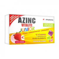 Arkopharma Azinc Fitness & Vitality Junior - Strawberry Taste