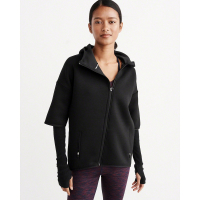 Abercrombie & Fitch Women's 'Active' Full-Zip Hoodie