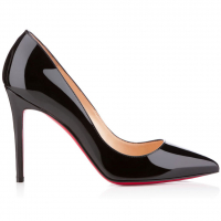 Christian Louboutin 'Pigalle 100' Patent Leather Pumps Für Damen