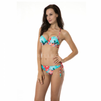 Relleciga 'Rellicious' Push-up Halter Bikini