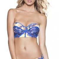 Maaji 's 'Tropic Cubism' Bikini Top With Soft Cups