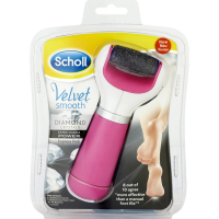 Scholl Velvet Smooth Electronic Express Pedi with Diamond Crystals