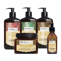 Arganicare 'Full Castor Oil' Set - 5 Pieces
