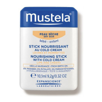 Mustela 'Hydra Bébé - Stick Lips & Cheeks cold' Creme - 10.1 ml
